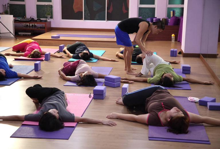 Group Yoga Therapy